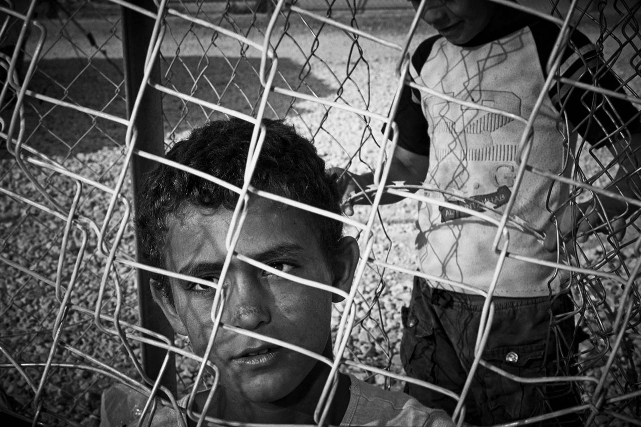 If you cover his eyes and his mouth, so that no matter which way he turns he is trapped, then, for sure, one day, the caged boy will become a wild animal.